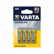 Купить Varta батарейка R6 AA Superlife пальчиковая 1,5 V, цена за 1шт
