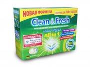 Купить Clean&Fresh All in 1 таблетки для всех типов посудомоечных машин 30шт