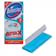Купить Domestos стикер для очищения унитаза 3шт Морская свежесть