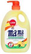 Купить Lion Mama Lemon Natural Lemon Концентрированное средство для мытья посуды и детских принадлежностей с Ароматом лимона 1000мл