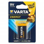 Купить Varta батарейка крона 6LR61/6LF22 6LP3146 алкалиновая 9v, цена за 1шт