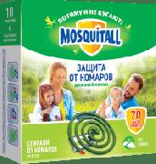 Купить Mosquitall Спирали защита для всей семьи от комаров 10шт