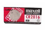 Купить Maxell батарейка CR2016 Lithium 3v, цена за 1шт