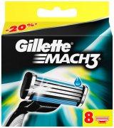 Купить Gillette кассеты для бритья сменные мужские Mach3 8шт