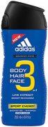 Купить Adidas гель для душа мужской 250мл Sport Energy 3в1
