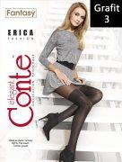 Купить Conte Колготки Fantasy Erica Fashion 50 den Grafit (Графит) размер 3-M