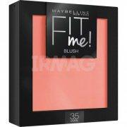 Купить Maybelline румяна для лица Fit Me Blush 4,5г тон 35 Coral