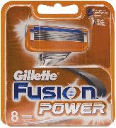 Купить Gillette кассеты для бритья сменные мужские Fusion 8шт