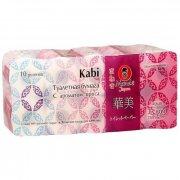 Купить Maneki Kabi туалетная бумага трехслойная с Ароматом ириса 10шт