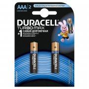 Купить Duracell батарейка алкалиновая TurboMax AAA LR03 мизинчиковая, 1шт