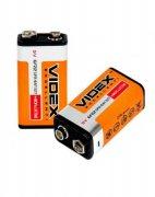 Купить Videx батарейка крона 9v 6F22 солевая, цена за 1шт