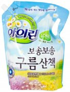 Купить Aekyung кондиционер для белья Irin 2100мл Blooming Blue Айрин Прогулка в облаках в мягкой упаковке