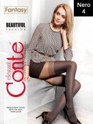 Купить Conte Колготки Fantasy Beautiful fashion Nero (Черный) размер 4-L