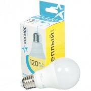 Купить Космос Лампа светодиодная груша 13W Е2730 теплый свет 3000k