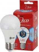 Купить Эра Лампа ECO светодиодная груша E27 12W 4000k цвет: холодный LED A60-12W-840-E27