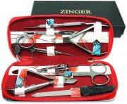 Купить Zinger MS-7106S Набор маникюрный на молнии 8 предметов, синий