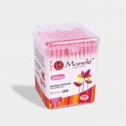 Купить Maneki Lovely ватные палочки гигиенические розовые 150шт в пластиковой коробке
