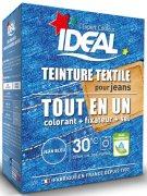 Купить Ideal Maxi Текстильная краска Все в одном для одежды и тканей Джинсы синие 350г