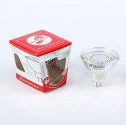 Купить Космос Лампа светодиодная Экономка 3W JCDR gu5,3, теплый свет