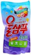 Купить Aekyung жидкое средство для стирки Wool Shampoo 1300мл Fresh для деликатных тканей свежесть в мягкой упаковке