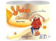 Купить Veiro Linia Classic туалетная бумага двухслойная 4шт Абрикосовая