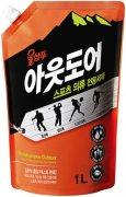 Купить Aekyung жидкое средство для стирки Wool Shampoo 1000мл Outdoor for Sportswear для спортивной одежды в мягкой упаковке