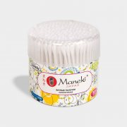 Купить Maneki Lovely ватные палочки гигиенические белые 300шт в пластиковом стакане