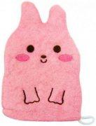 Купить Kokubo рукавичка для мытья тела детская Розовый Кролик Furocco Kids