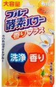 Купить ST Blue enzyme Power таблетка для бачка унитаза очищающая и отбеливающая 120г Апельсин