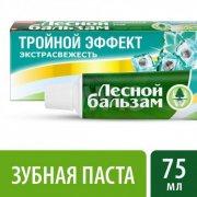 Купить Лесной бальзам зубная паста 75мл Тройной эффект Мята-смородина