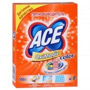 Купить Ace Oxi Magic Color пятновыводитель 500г для цветного белья
