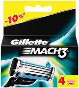Купить Gillette кассеты для бритья сменные мужские Mach3 4шт