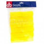 Купить Dewal RMHR2 бигуди пластиковые желтые 12шт 32 мм