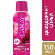 Купить Camay дезодорант спрей женский 150мл Romantique Роза
