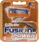 Купить Gillette кассеты для бритья сменные мужские Fusion Power 8шт