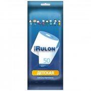 Купить Mon Rulon туалетная бумага влажная детская 50шт