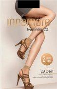 Купить Innamore Носочки Minielle 20 den Nero (Черный) 2 пары