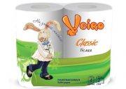 Купить Veiro Linia Classic туалетная бумага двухслойная 4шт Белая