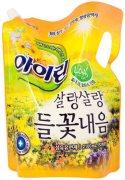 Купить Aekyung кондиционер для белья Irin 2100мл Soft Yellow Айрин Полевые цветы в мягкой упаковке