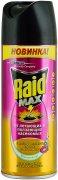 Купить Raid Max спрей от летающих и ползающих насекомых 300мл Весенний луг