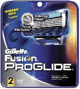 Купить Gillette кассеты для бритья сменные мужские Fusion ProGlide 2шт