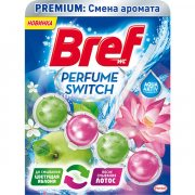 Купить Bref шарики для унитазов чистящие Premium: Perfume Switch 50г Цветущая Яблоня-Лотос