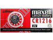 Купить Maxell батарейка CR1216 Lithium, цена за 1шт
