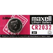 Купить Maxell батарейка CR2032 Lithium 3v, цена за 1шт