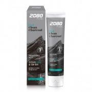 Купить Aekyung Dental Clinic 2080 зубная паста 120г черная с активированным углем и мятным вкусом