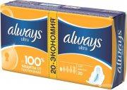 Купить Always прокладки Ultra 20шт Light Duo 3 капли