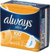 Купить Always прокладки Ultra 10шт Single Light 3 капли
