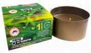 Купить Argus Garden Свеча от комаров с натуральным маслом цитронеллы в банке 80г