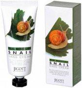 Купить Jigott Real Moisture Snail крем для рук с экстрактом слизи улитка 100мл