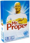 Купить Mr. Proper Моющий порошок для уборки 400г с отбеливателем